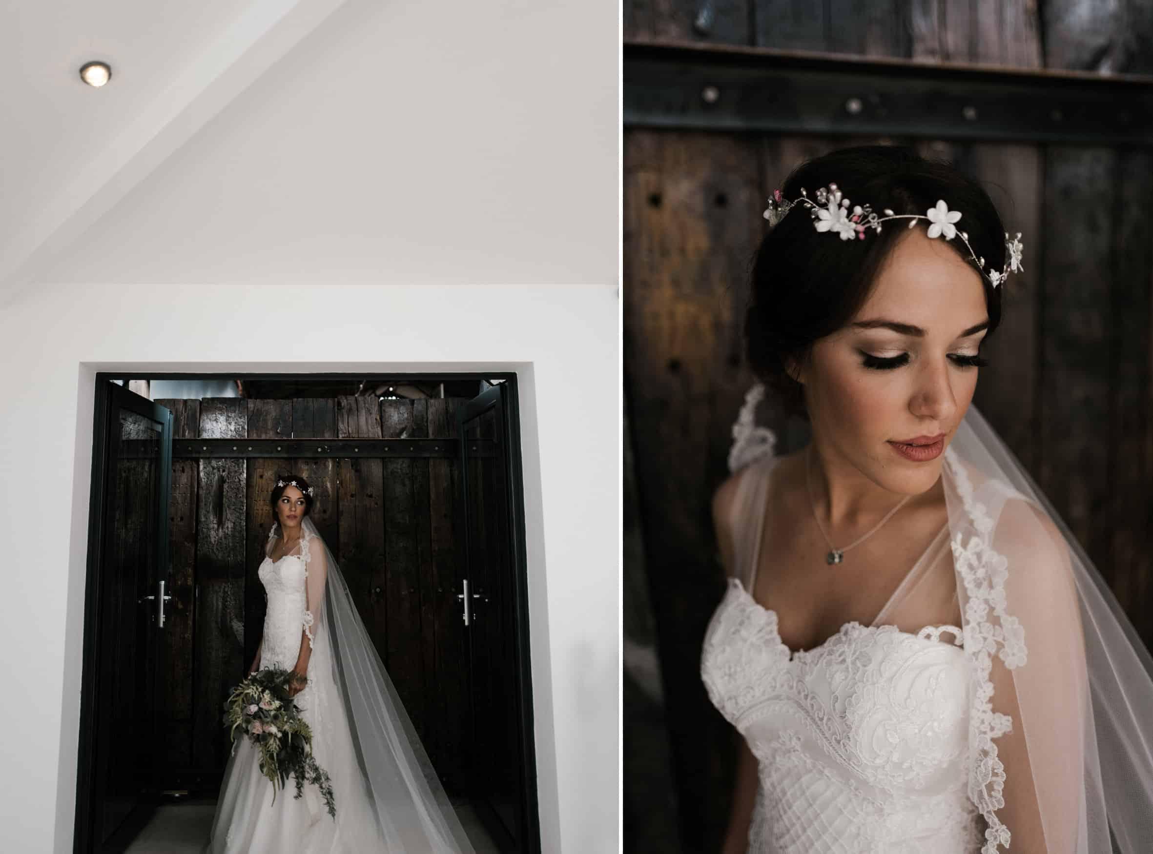 pre wedding bride portrait