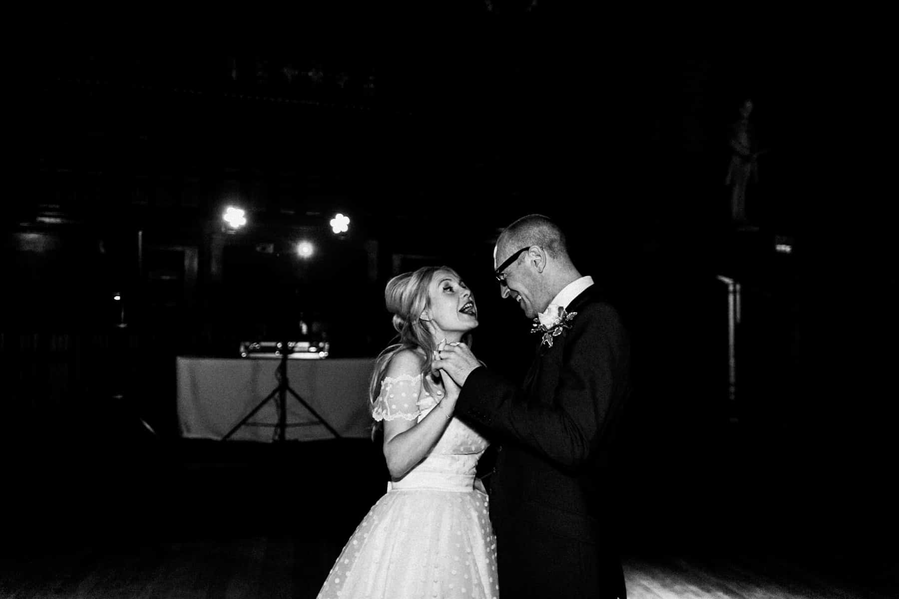 Bride and groom first dance manchester