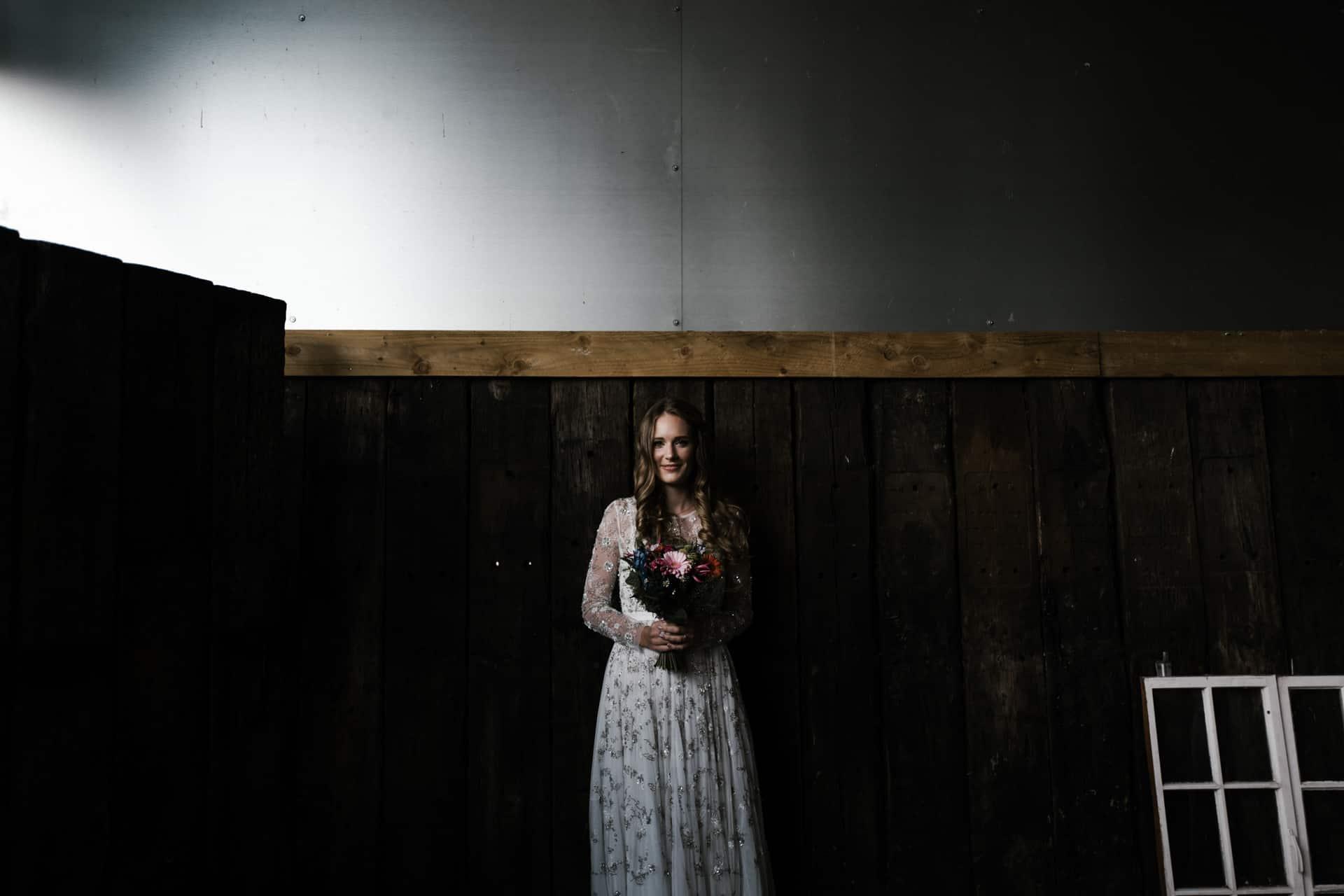 bride portrait at Owen House