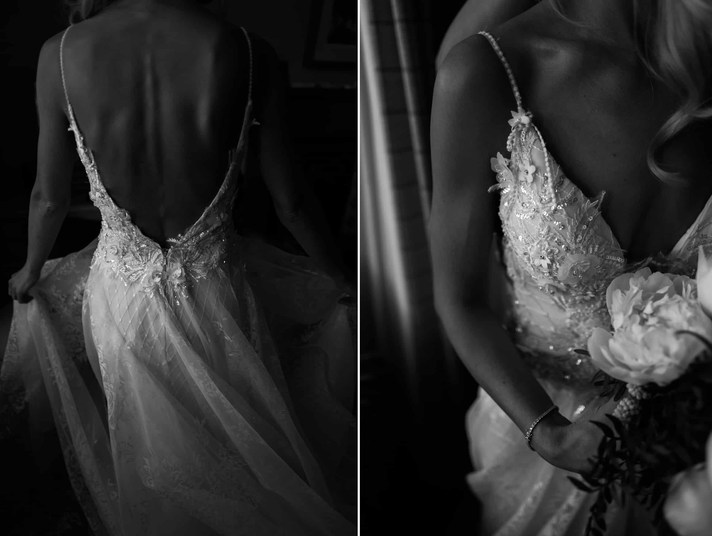 close ups of the dress