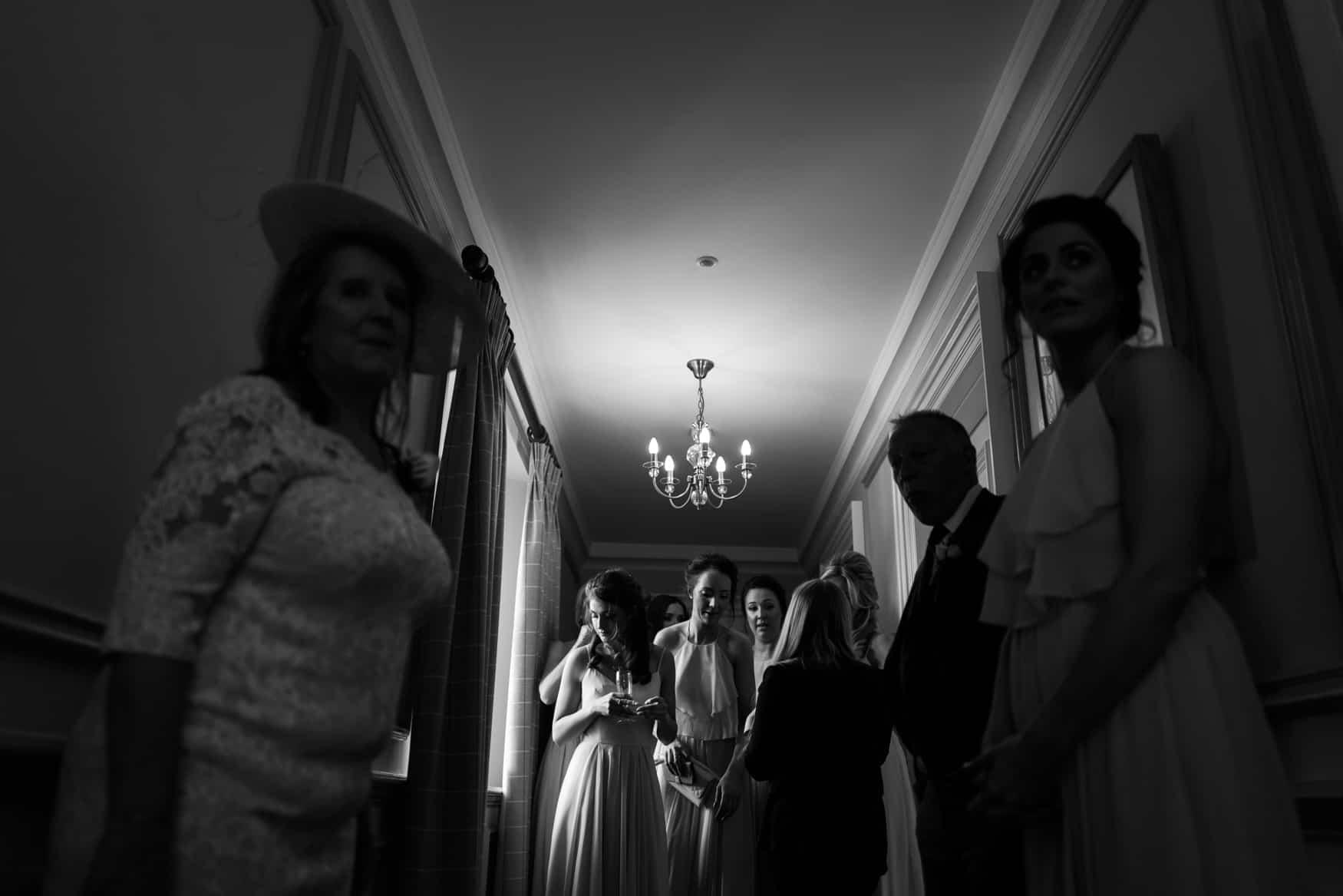 bridesmaids ready
