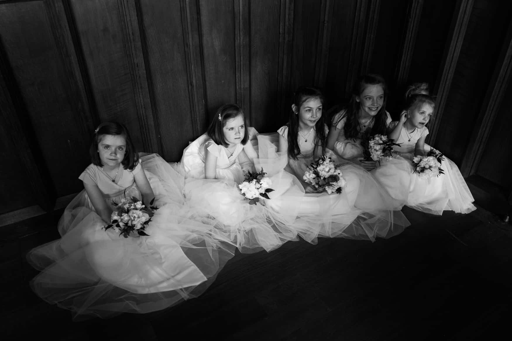 flower girls The Lingholm Estate
