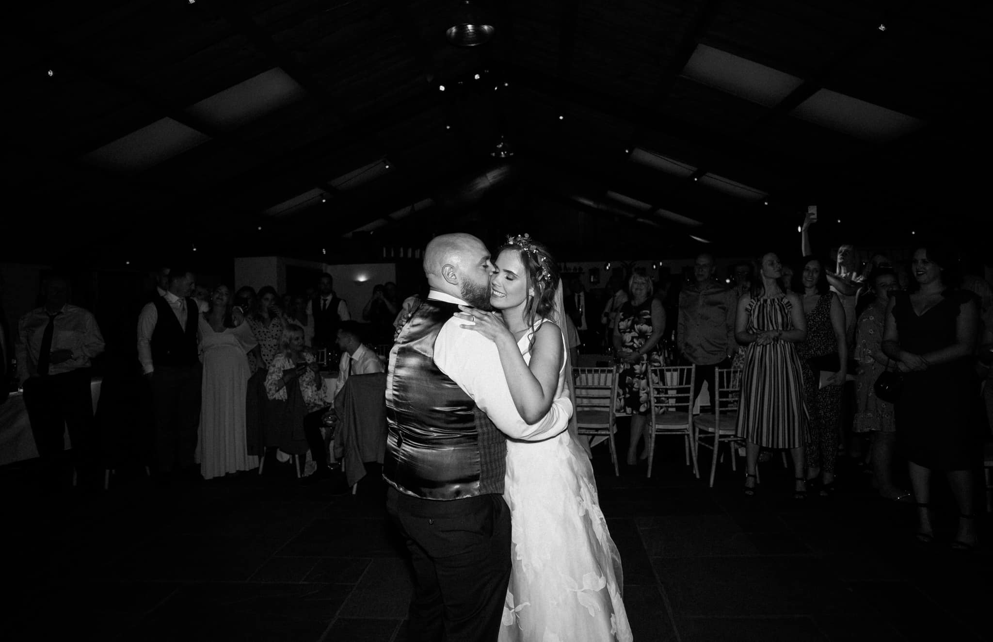 First dance at a cheshire barn