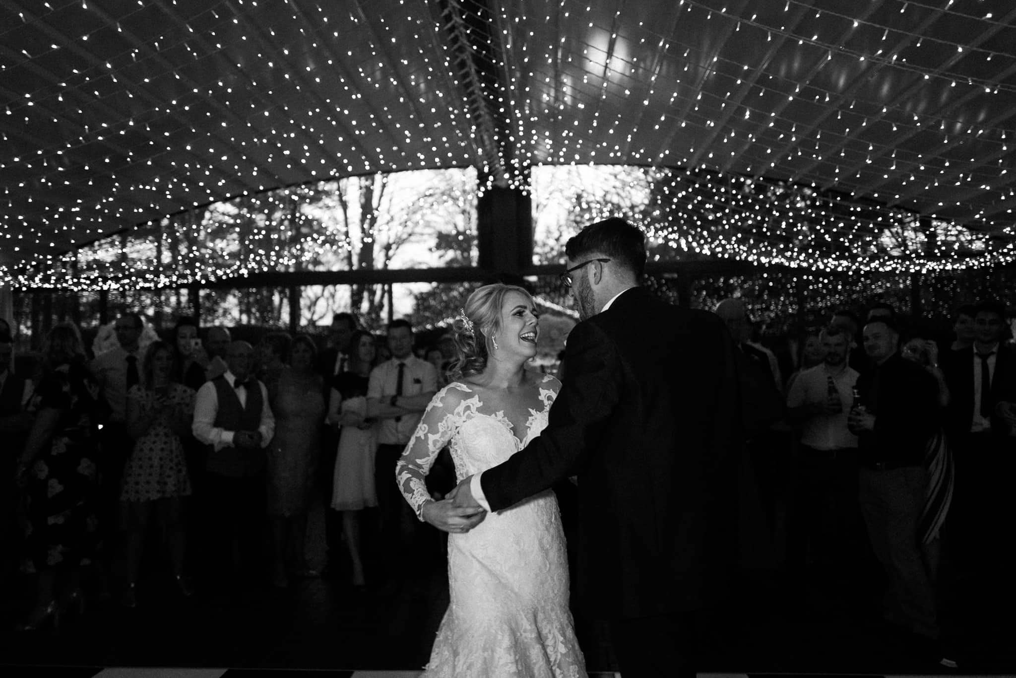 First dance at Delamere Manor Wedding venue
